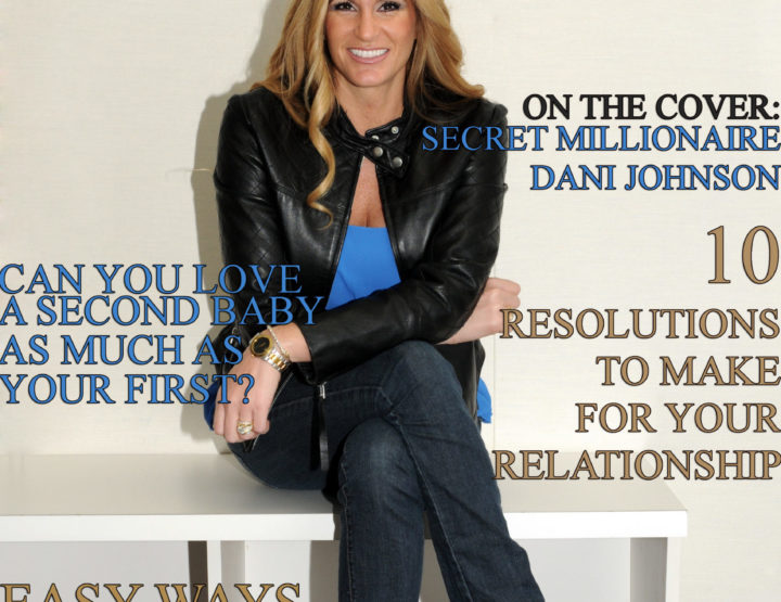 Celebrity Parents Magazine: Dani Johnson Issue