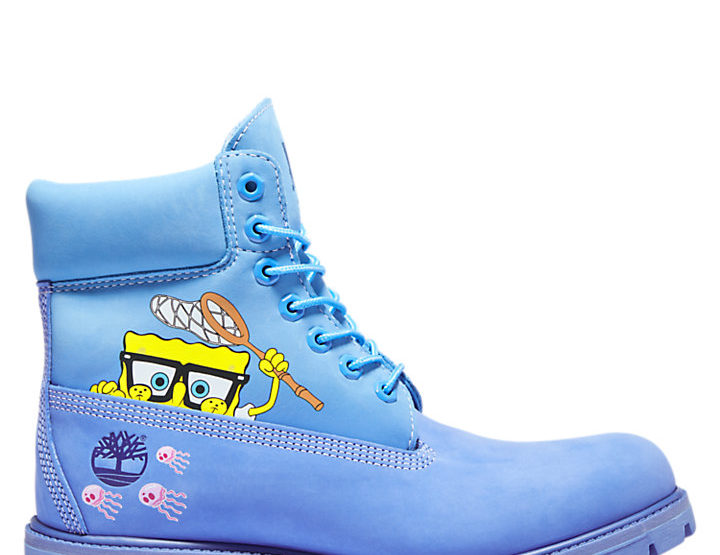 SpongeBob SquarePants X Timberland Boots Are The Coolest Thing To Come Out of Bikini Bottom