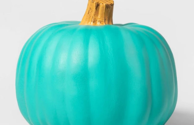 Here's What Those Teal Colored Pumpkins Really Mean On Halloween