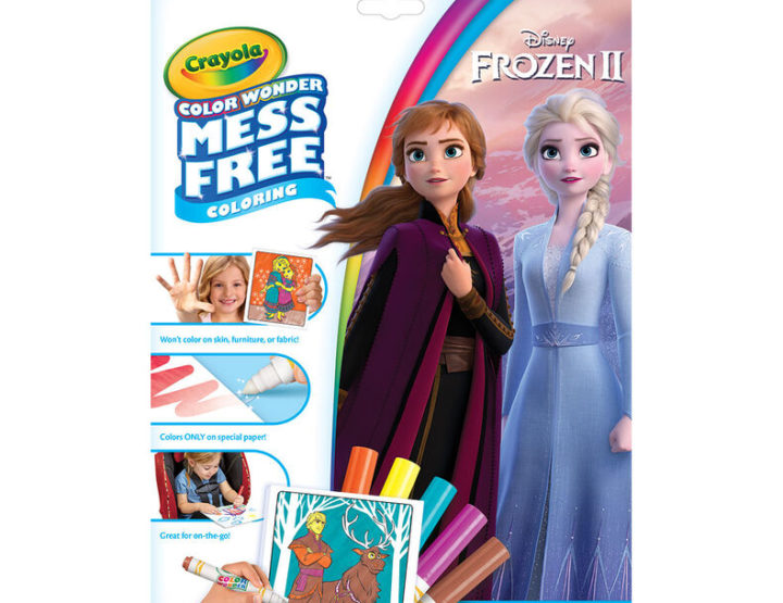 The Frozen 2 Crayola Products Offers Hours of Crafting For Your Cutie