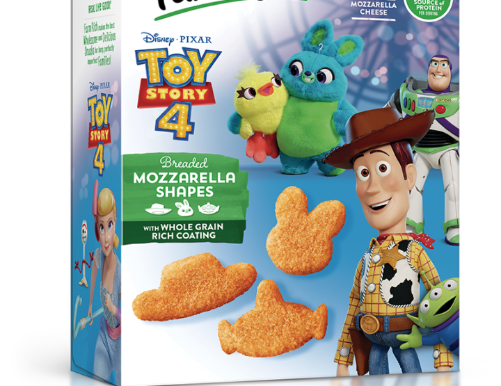 The Disney Pixar Toy Story 4 Mozzarella Shapes Are Delish To Infinity and Beyond