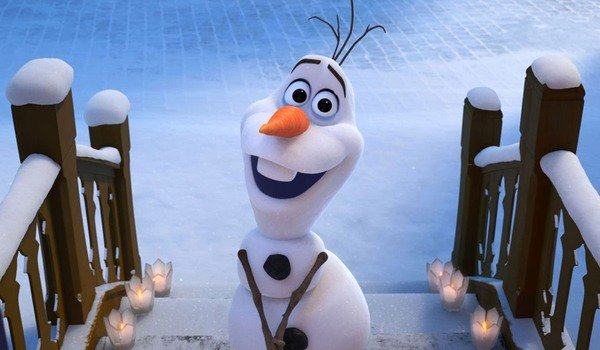 How Tall is Frozen's Olaf? You're Going To Need A Lot Of Snow