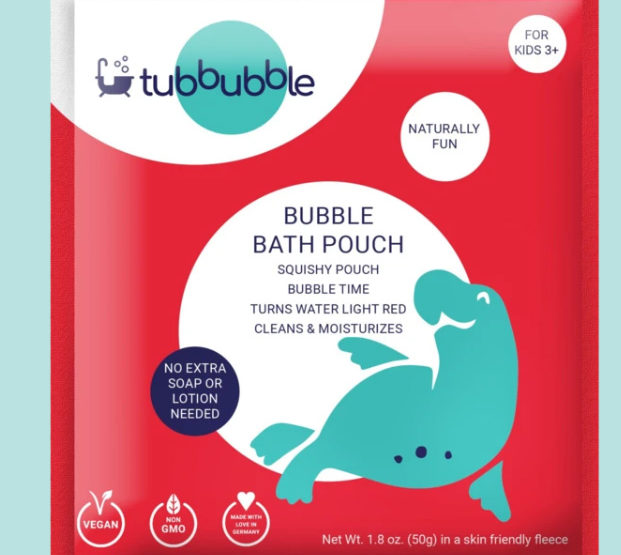 Tubbubble Offers Clean Safe Fun For Bathtime — And Teaches Some STEM, Too