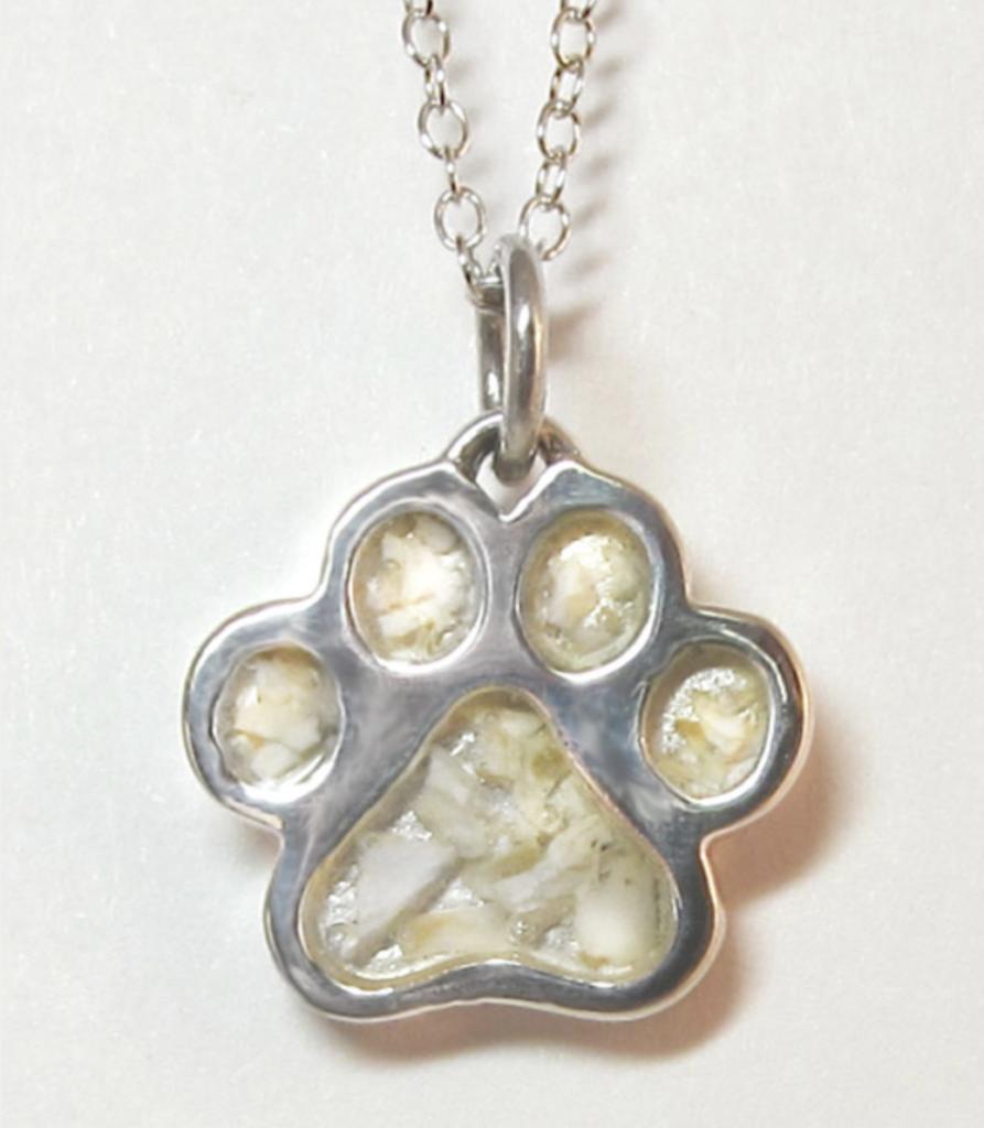 puppy paws locket