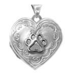 puppy paws memory locket