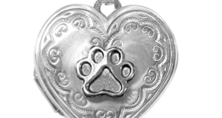 Puppy Paws Memory Lockets Lets You Keep Fido Close To Your Heart Forever
