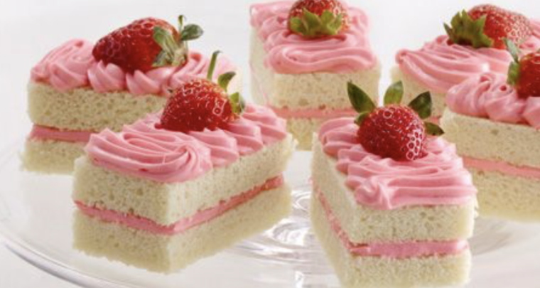 Duncan Hines Champagne Strawberry Shortcake Squares Are A Bite Of Summer