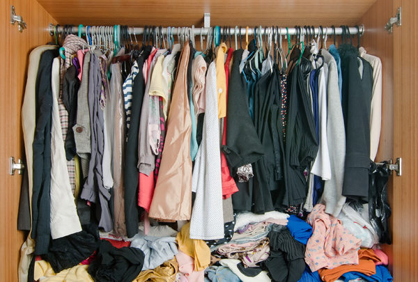 How To Clear Closet Clutter — Once And For All