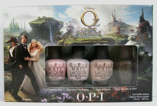 Oz The Great and Powerful Nail Polish Collection from OPI Is Making Us Click Our Heels