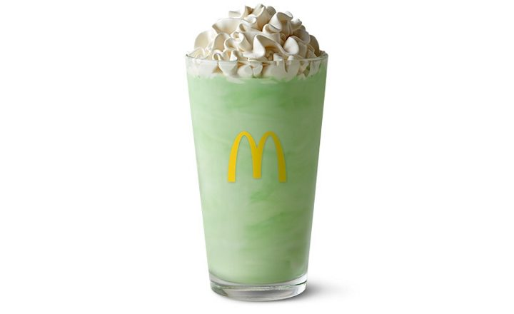 The McDonald's Shamrock Shake Is Back For All You Lucky Leprechauns