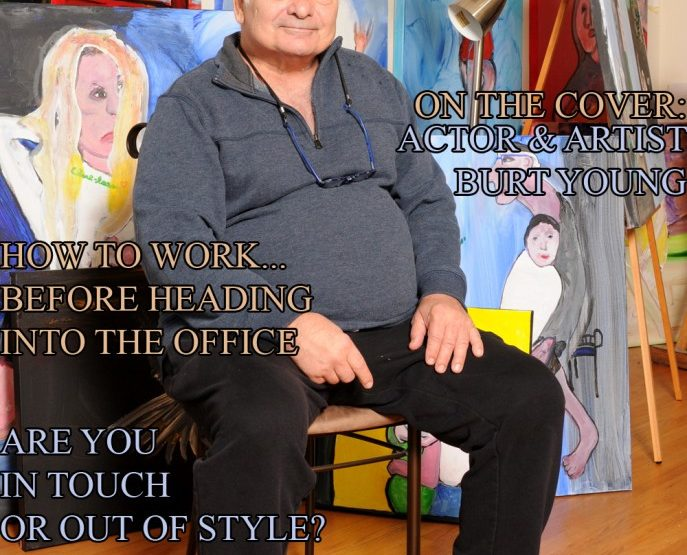 Celebrity Parents Magazine – Burt Young Issue