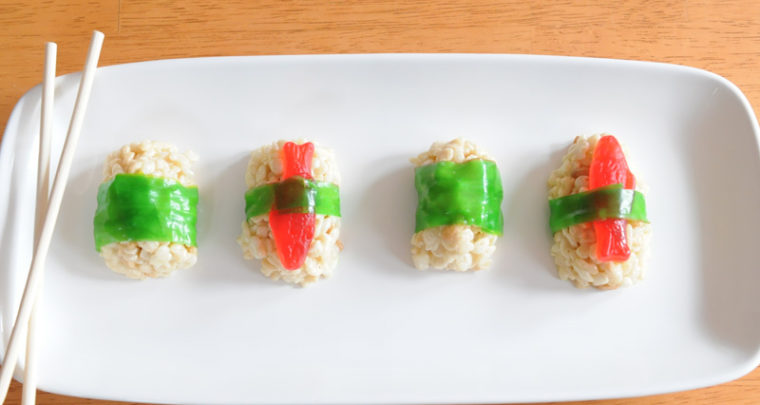 Candy Sushi Is What's For Dinner, Er, Dessert