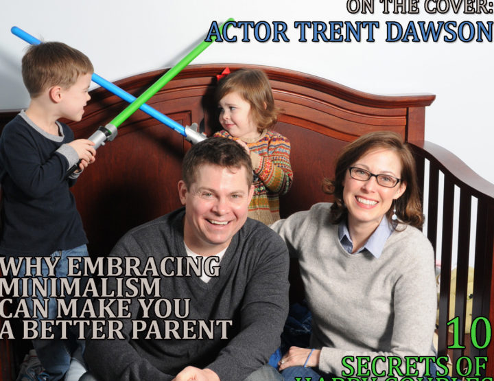 Celebrity Parents Magazine: Trent Dawson Issue