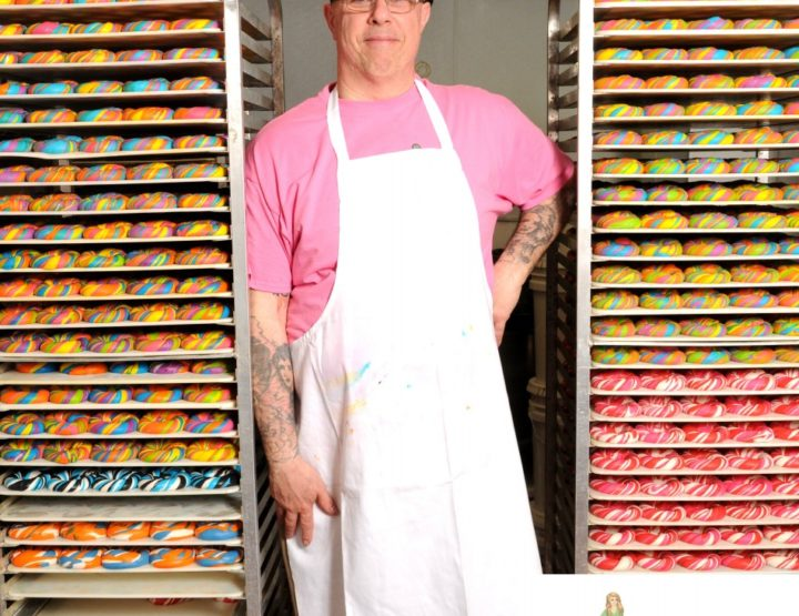 Celebrity Interview – Scot Rossillo Rainbow Bagel Artist