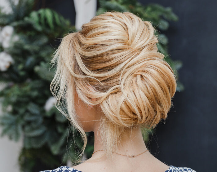 How to Make a Disheveled French Twist To Replace Your Mom Bun
