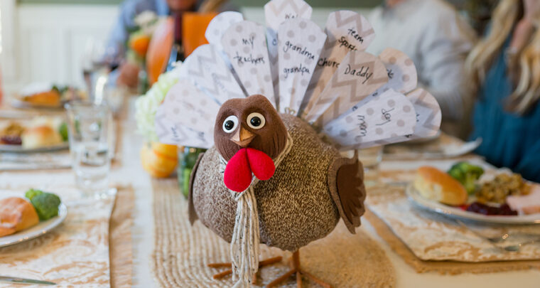 Turkey On The Table Is An Adorable Ode To Gratitude
