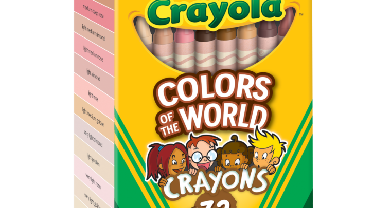 Crayola's 'Colors Of The World' Crayons Lets Your Child Draw Themselves Exactly How They Are
