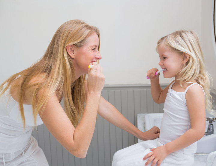 Here's How Your Child Should Really Be Brushing Their Teeth, According to Dentists