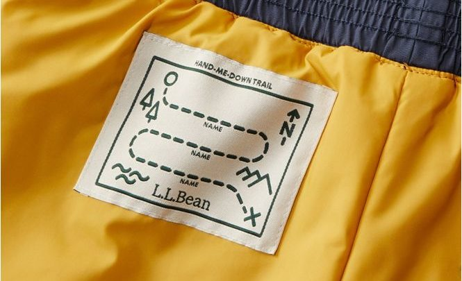 L.L. Bean's Hand-Me-Down Trail Tag Means No More Lost Kid Clothing
