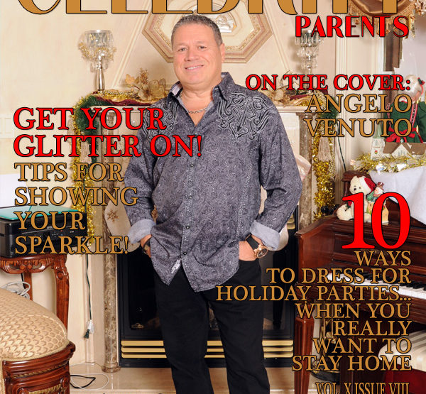 Celebrity Parents Magazine: Angelo Venuto Issue
