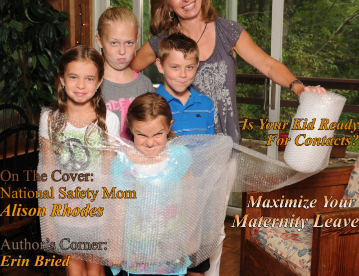 Celebrity Parents Magazine: Alison Rhodes Issue
