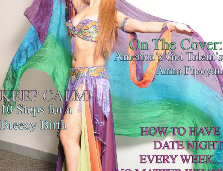 Celebrity Parents Magazine: Anna Pipoyan Issue