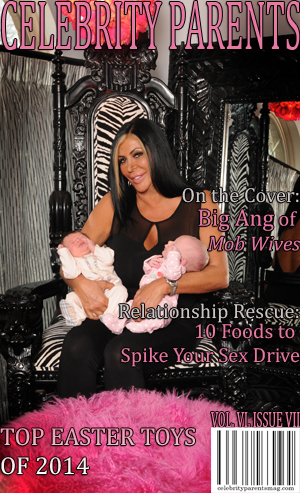 CELEBRITY PARENTS MAGAZINE: MOB WIVES' BIG ANG ISSUE