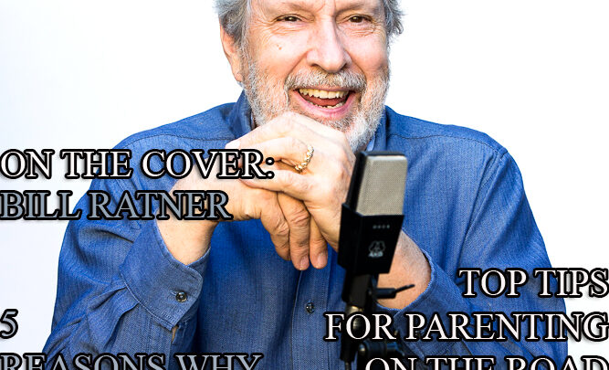 Celebrity Parents Magazine: Bill Ratner Issue