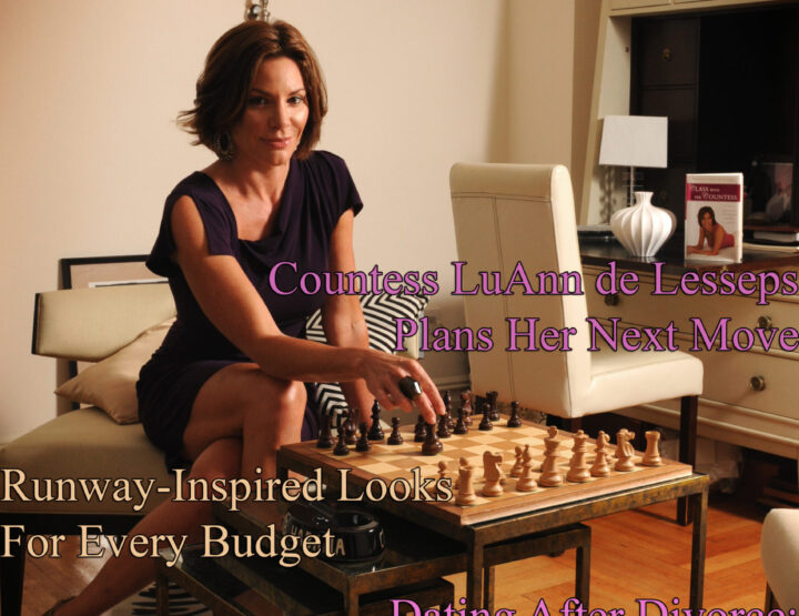 Celebrity Parents Magazine: Countess LuAnn de Lesseps Issue