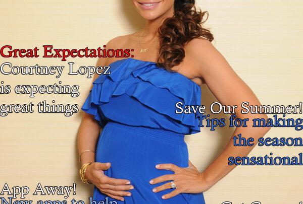 Celebrity Parents Magazine: Courtney Mazza Lopez Issue