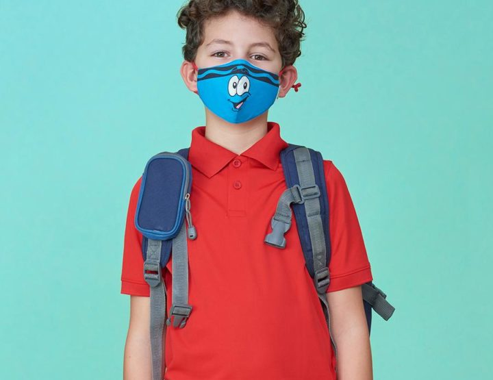 Crayola's SchoolMaskPack Has Colorful Face Masks Just In Time For Back To School