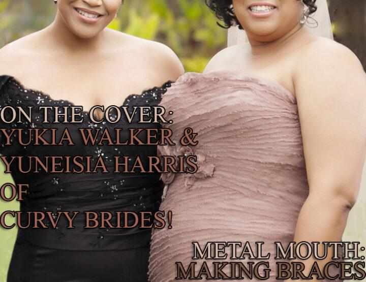 Celebrity Parents Magazine: Curvy Brides Issue