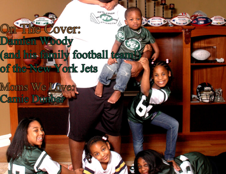 Celebrity Parents Magazine: Damien Woody Issue