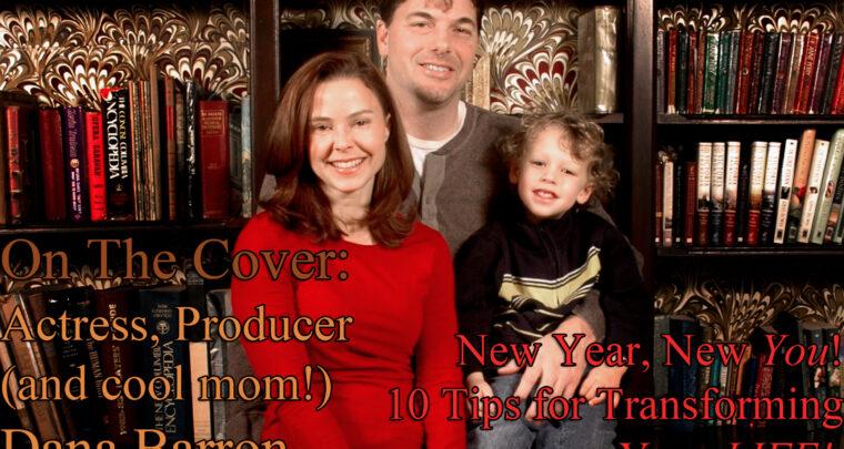 Celebrity Parents Magazine: Dana Barron Issue