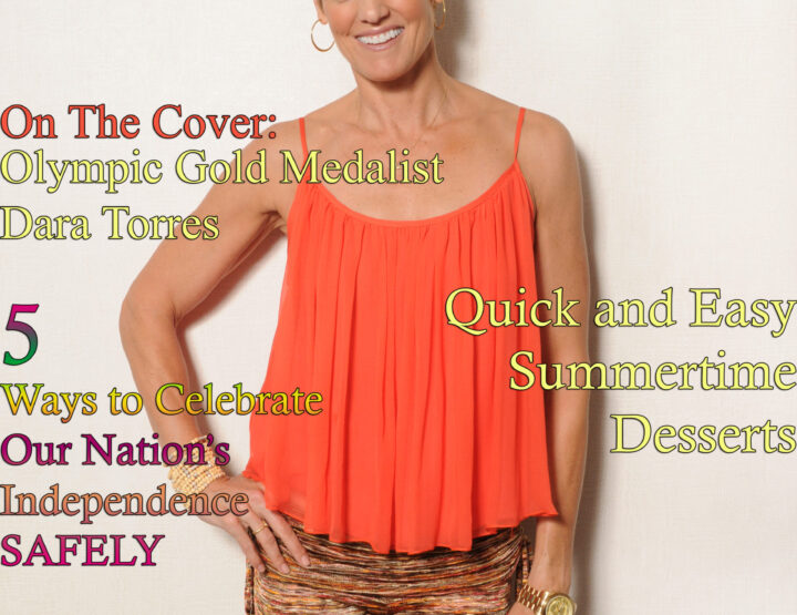 Celebrity Parents Magazine: Dara Torres Issue