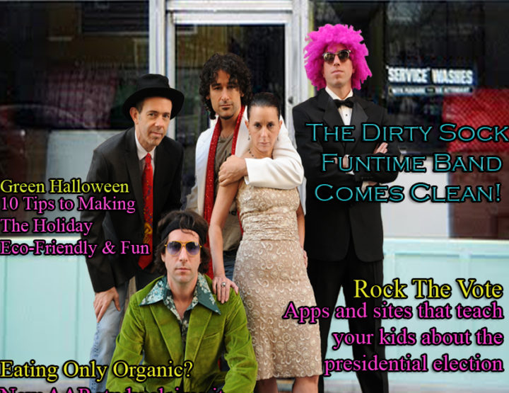 Celebrity Parents Magazine: Dirty Sock Funtime Band Issue
