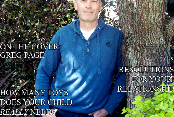 Celebrity Parents Magazine: Greg Page Issue