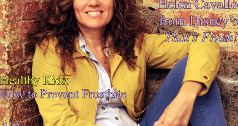 Celebrity Parents Magazine: Helen Cavallo Issue
