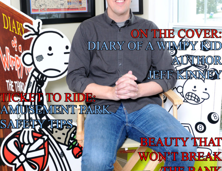 Celebrity Parents Magazine: Jeff Kinney Issue