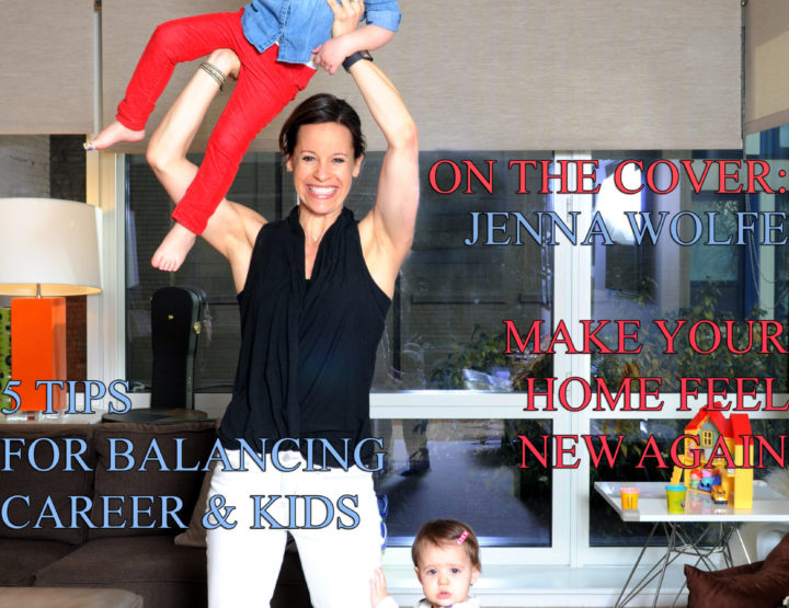 Celebrity Parents Magazine: Jenna Wolfe Issue