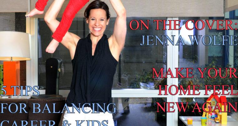 Celebrity Parents Magazine: Jenna Wolfe Issue