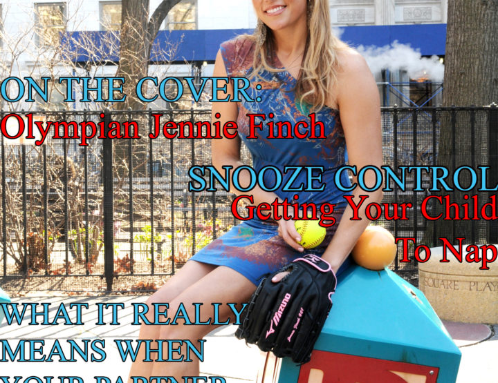 Celebrity Parents Magazine: Jennie Finch Issue