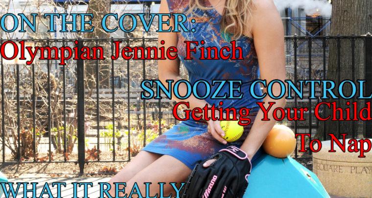 Celebrity Parents Magazine: Jennie Finch Issue