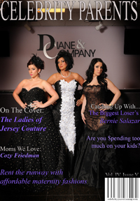 Celebrity Parents Magazine: Jersey Couture Issue