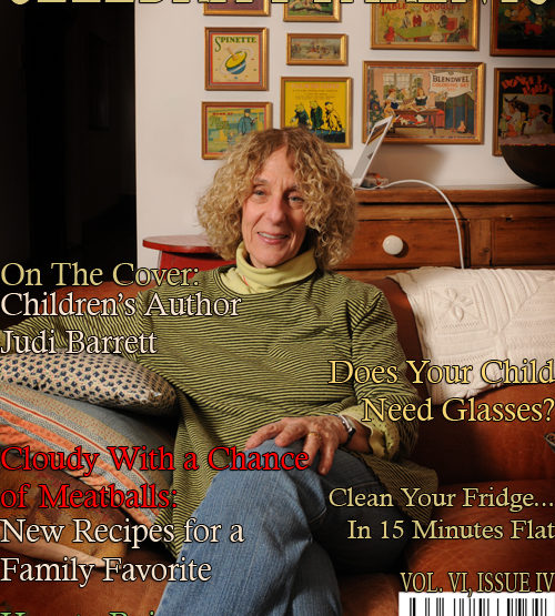 Celebrity Parents Magazine: Judi Barrett Issue