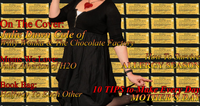 Celebrity Parents Magazine: Julie Dawn Cole Issue