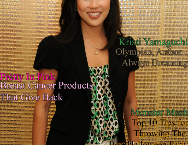 Celebrity Parents Magazine: Kristi Yamaguchi Issue