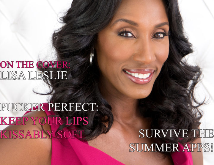 Celebrity Parents Magazine: Lisa Leslie Issue