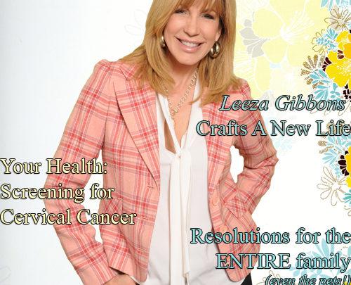 Celebrity Parents Magazine: Leeza Gibbons Issue