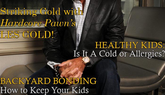 Celebrity Parents Magazine: Les Gold Issue